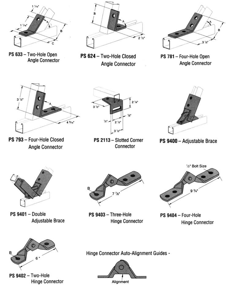 angle fittings